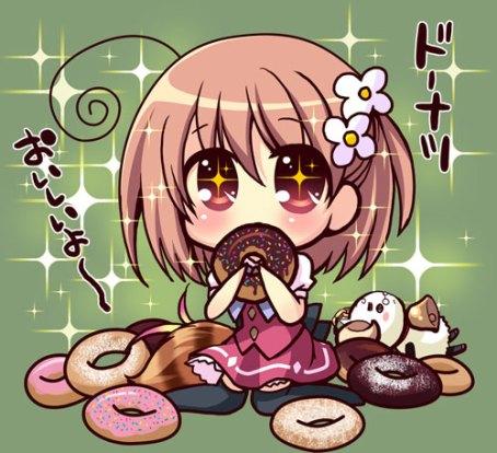 「わい~ ドーナツ!」