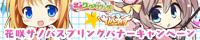 花咲サノバスプリングキャンペーン開催中!